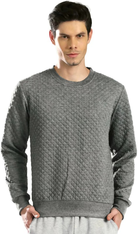 HRX by Hrithik Roshan Full Sleeve Self Design Mens Sweatshirt