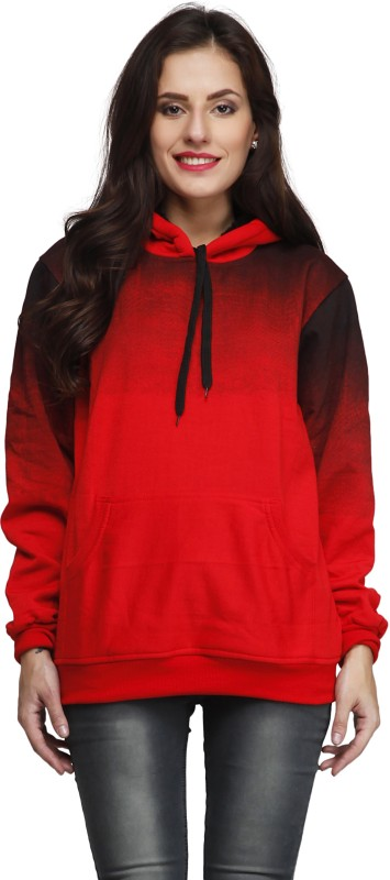 High Hill Full Sleeve Solid Women's Sweatshirt