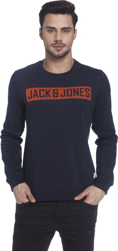 Jack & Jones Full Sleeve Solid Men's Sweatshirt