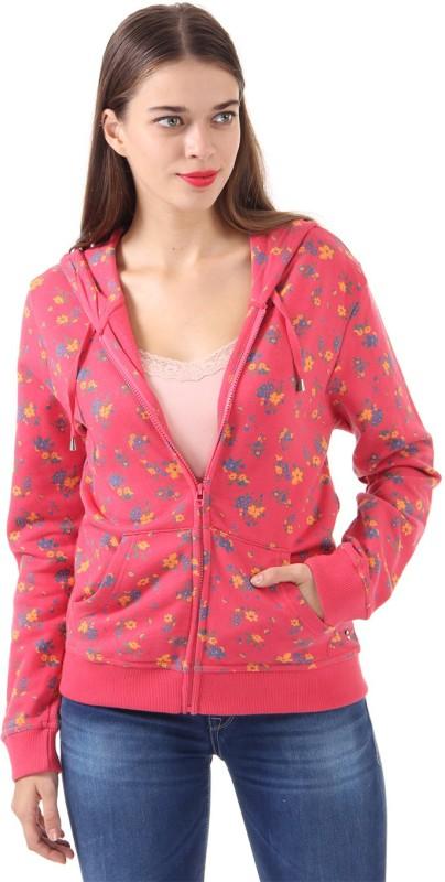 U.S. Polo Assn. Full Sleeve Floral Print Womens Sweatshirt