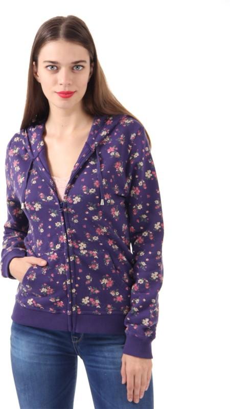 U.S. Polo Assn Full Sleeve Floral Print Womens Sweatshirt