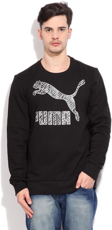 Puma Full Sleeve Printed Mens Sweatshirt