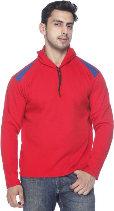 Demokrazy Full Sleeve Solid Men's Sweatshirt