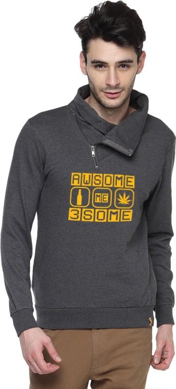 Campus Sutra Full Sleeve Printed Men Sweatshirt