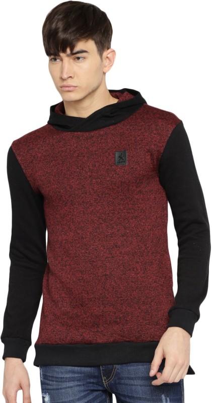 Roadster Full Sleeve Self Design Mens Sweatshirt