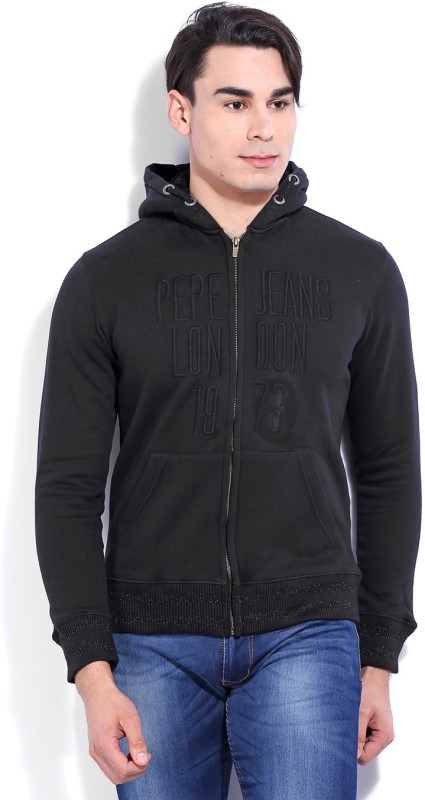 Pepe Jeans Full Sleeve Solid Mens Sweatshirt