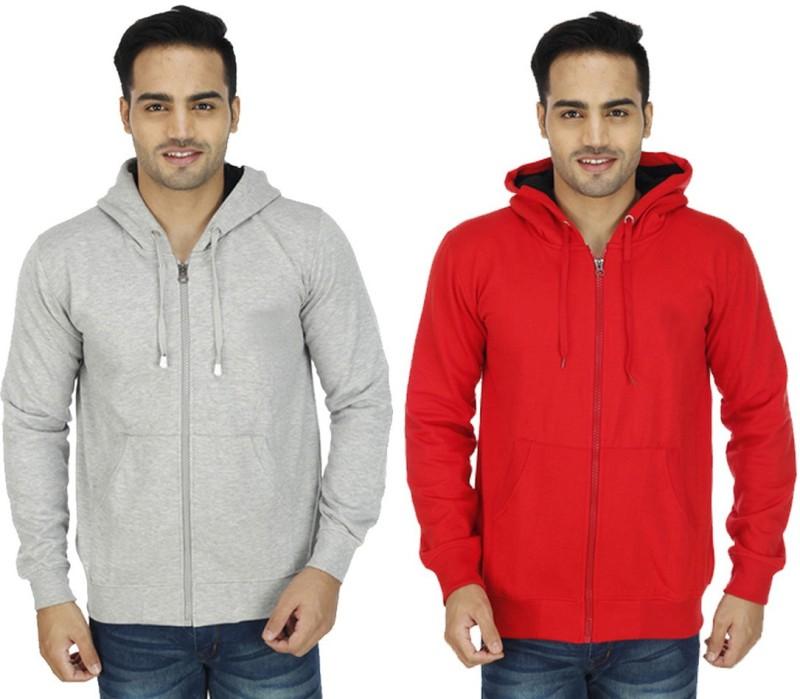 NE Full Sleeve Solid Men's Sweatshirt