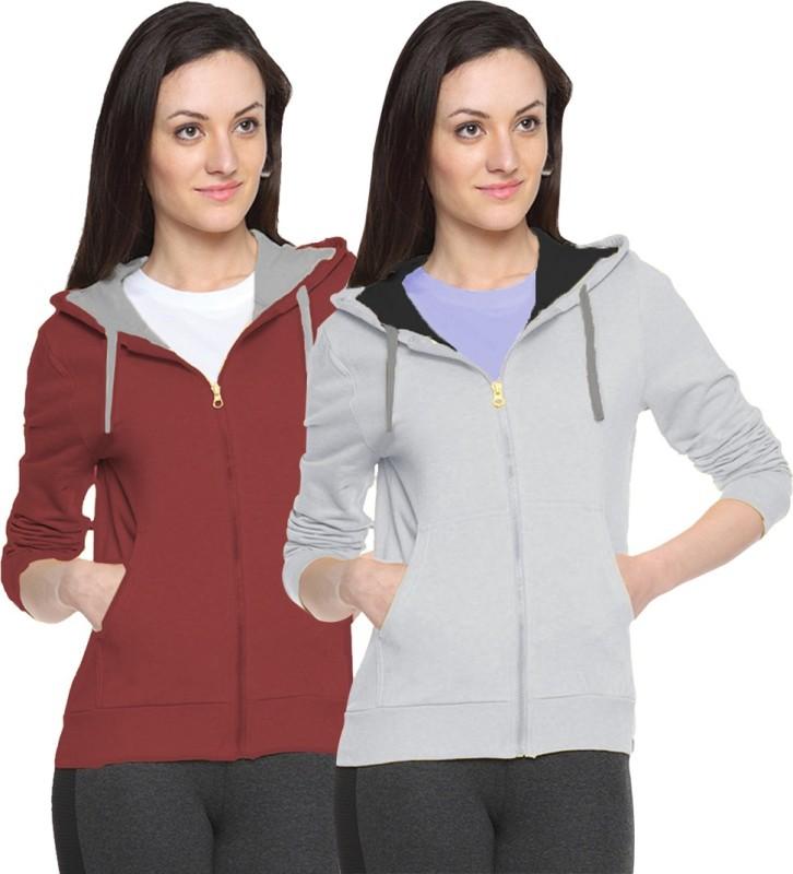 Van Galis Full Sleeve Solid Women's Sweatshirt