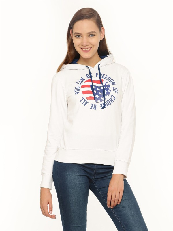 Vvoguish Full Sleeve Printed Womens Sweatshirt