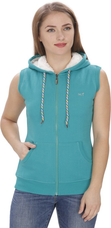 NGT Sleeveless Solid Women's Sweatshirt