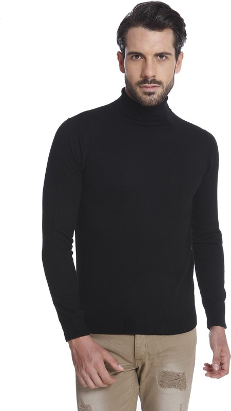 Jack & Jones Full Sleeve Solid Mens Sweatshirt