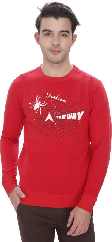 Idealism Full Sleeve Printed Men's Sweatshirt