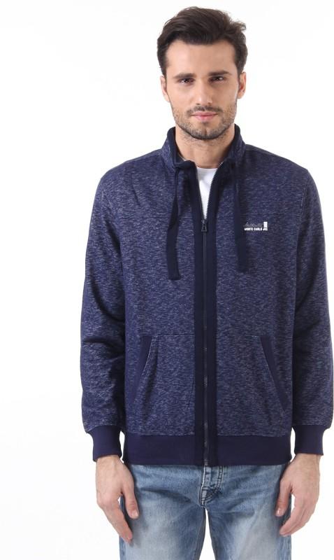 Monte Carlo Full Sleeve Solid Mens Sweatshirt