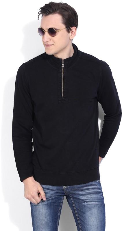 Numero Uno Full Sleeve Solid Mens Sweatshirt