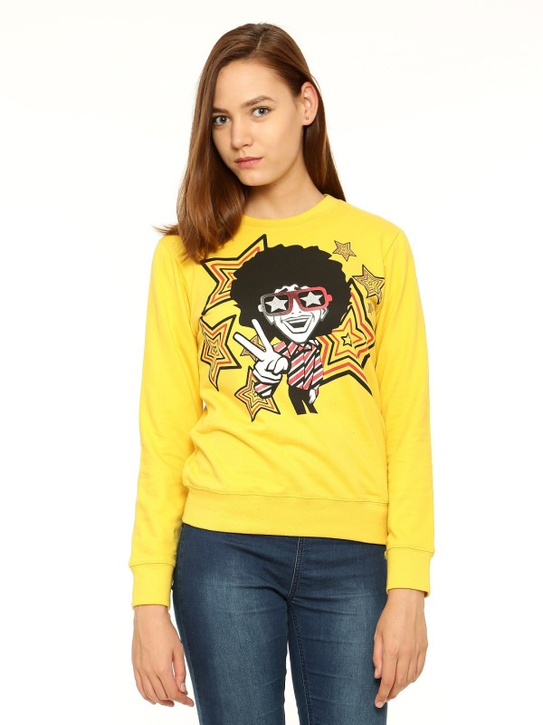 Vvoguish Full Sleeve Printed Womens Sweatshirt