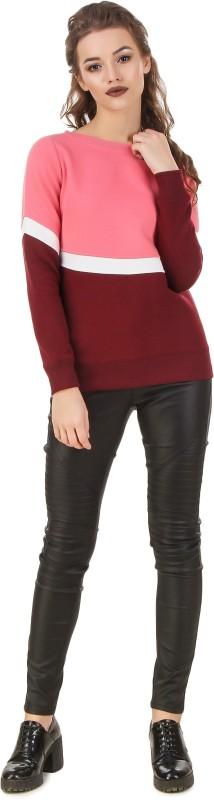 Texco Full Sleeve Solid Women's Sweatshirt