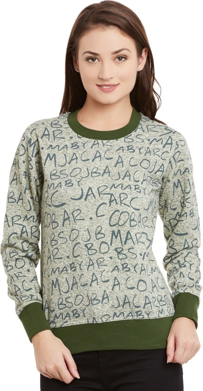 Glasgow Full Sleeve Printed Women's Sweatshirt