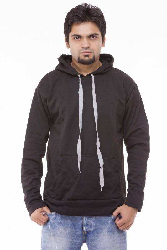 Being Fab Full Sleeve Solid Men's Sweatshirt