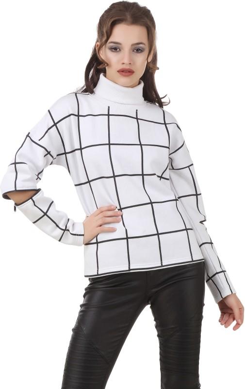 Texco Full Sleeve Striped Women's Sweatshirt