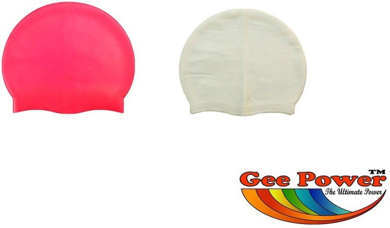Gee Power Imported Swimming Cap(Multicolor, Pack of 2)