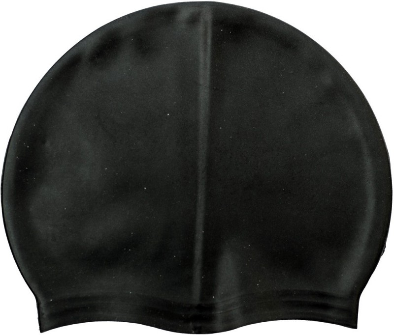 Gee Power BlackSC Swimming Cap(Black, Pack of 1)