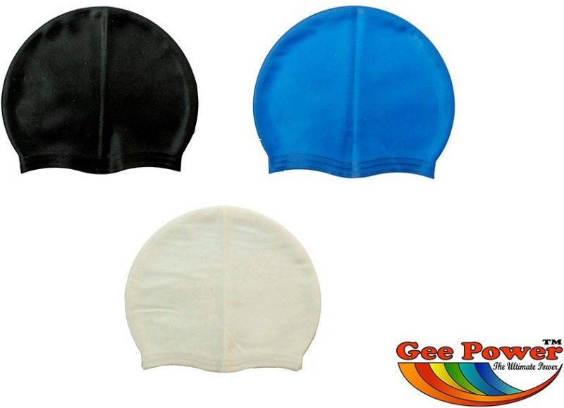 Gee Power Imported Swimming Cap(Multicolor, Pack of 3)