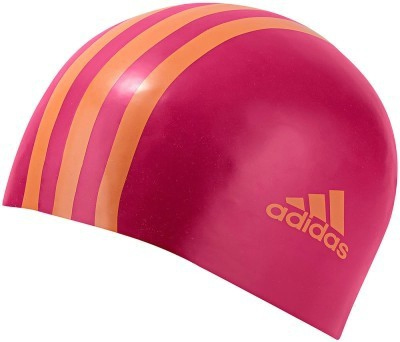 ADIDAS SIL 3STRCPY Swimming Cap(Pink, Pack of 1)