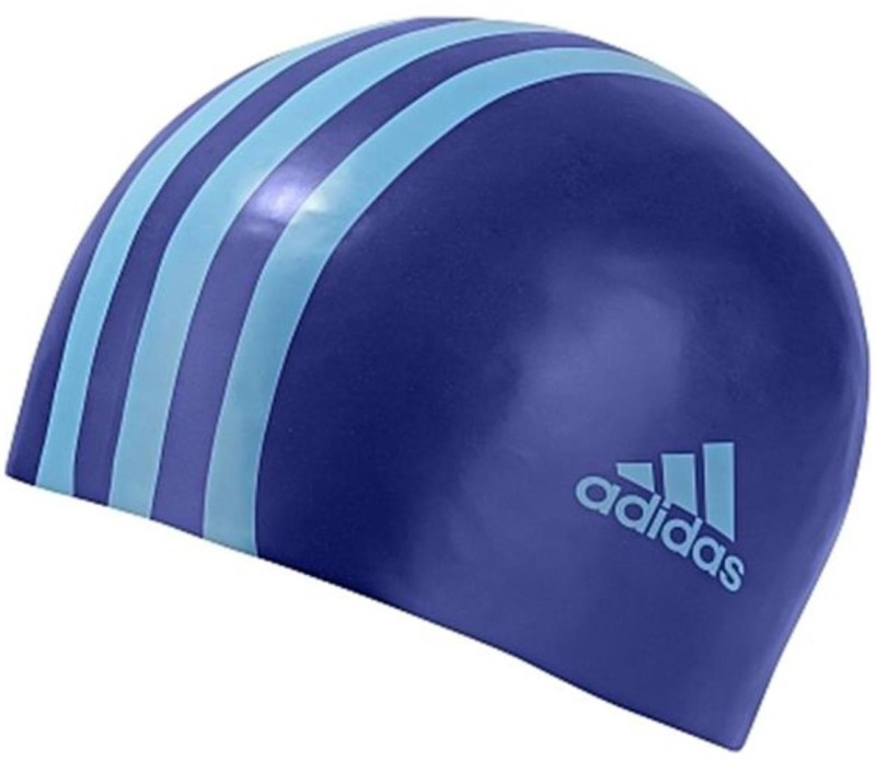 ADIDAS SIL 3STRCPY Swimming Cap(Blue, Pack of 1)