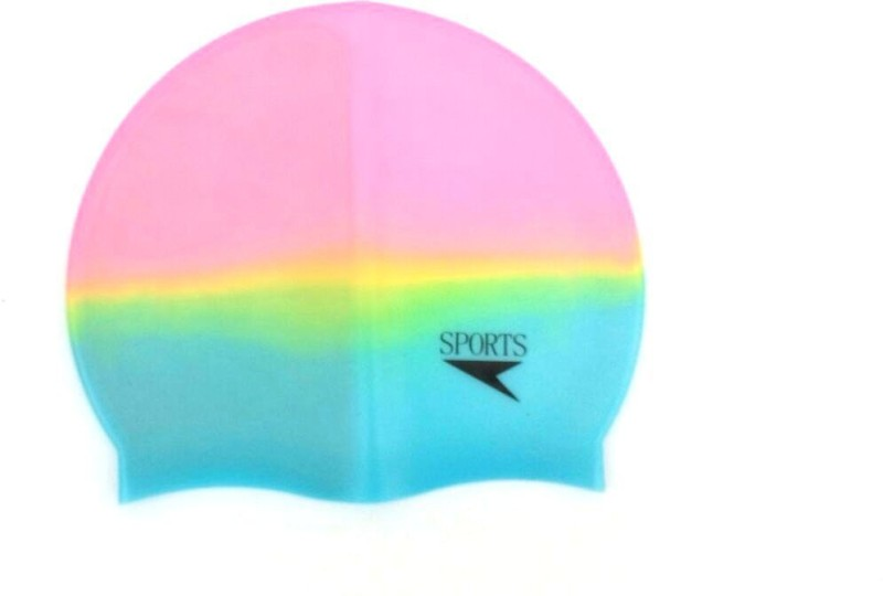 Asa Products silicon Swimming Cap(Multicolor, Pack of 1)
