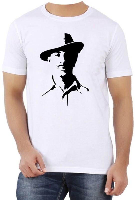 PhotogiftsIndia Printed Men Round Neck White T-Shirt