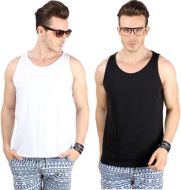 SayItLoud Mens Vest(Pack of 2)