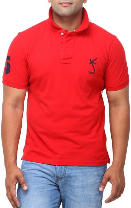yross-self-design-men-polo-neck-red-t-shirt