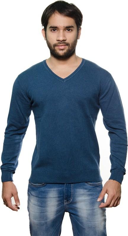 AMX V-neck Solid Men's Pullover