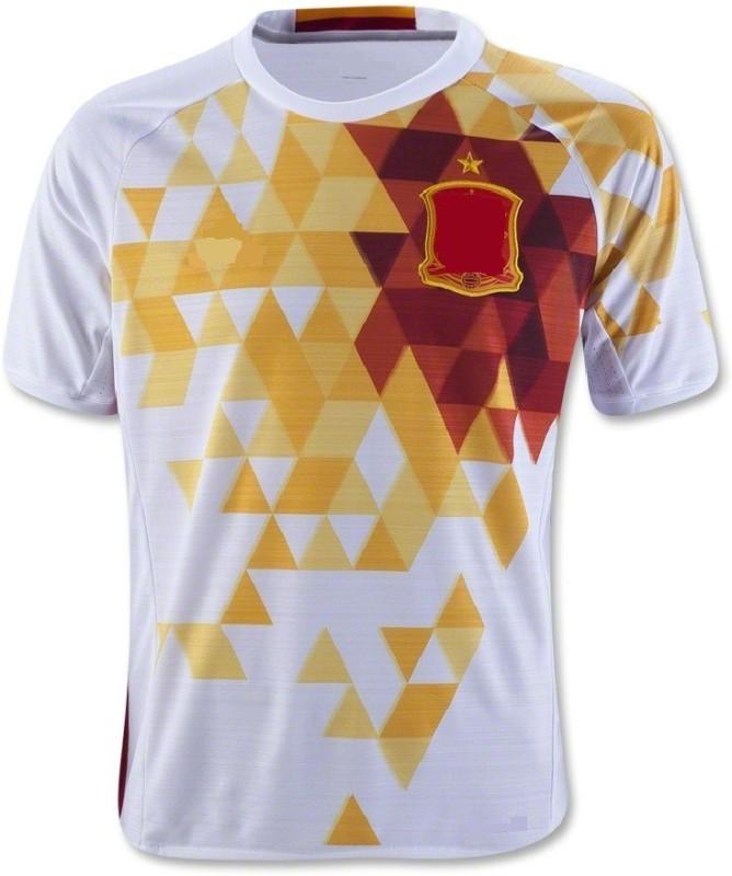Marex Printed Men Round Neck White T-Shirt