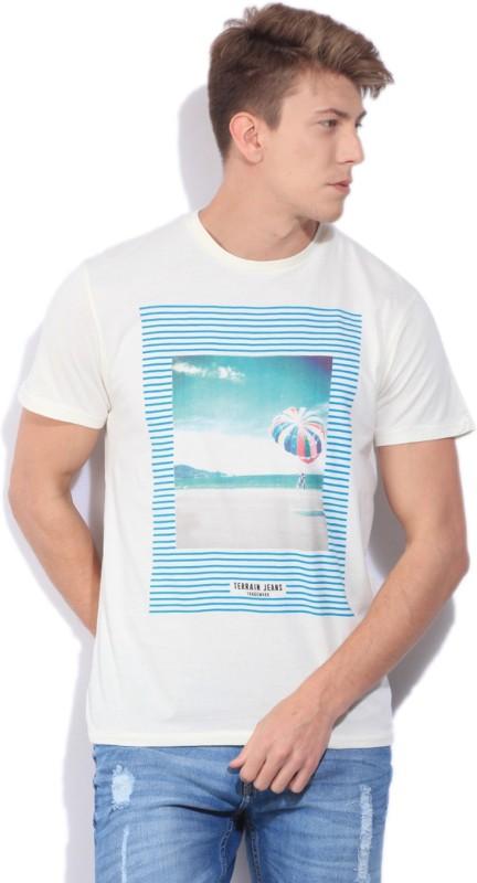 Indian Terrain Mens T-Shirt