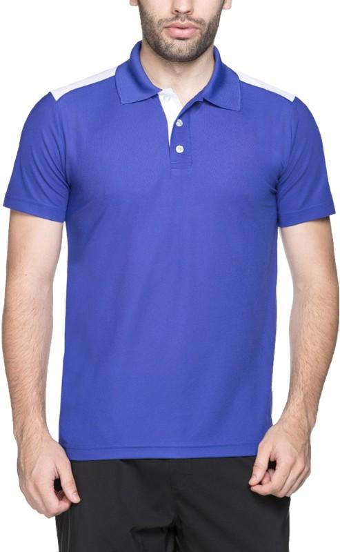 Puma Solid Men's Polo Neck White T-Shirt