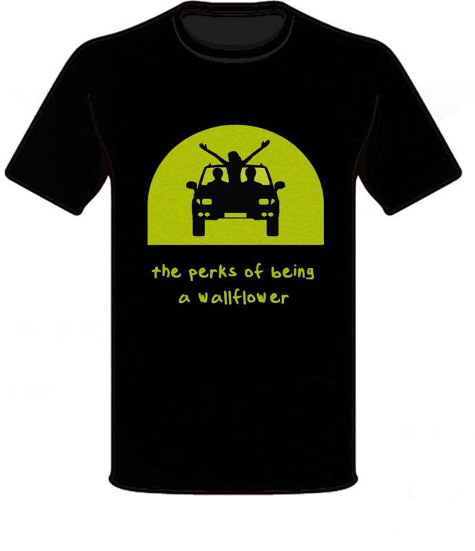 Nodilemma Graphic Print Men's Round Neck Black T-Shirt