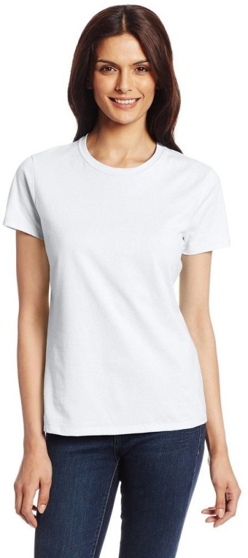 Espresso Casual Short Sleeve Solid Women White Top