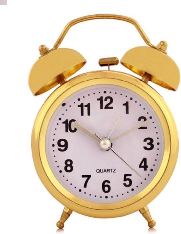 Ravishing Variety Analog Golden Clock