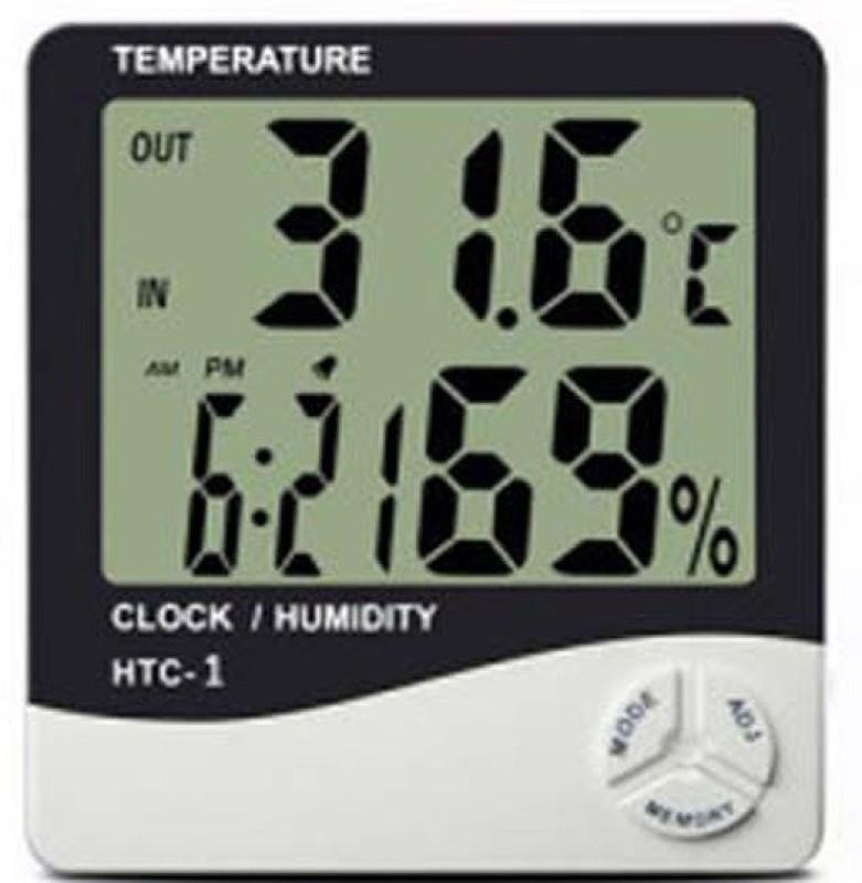 HTC Digital White Clock