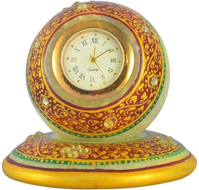 Khatushyam Analog Multicolor Clock