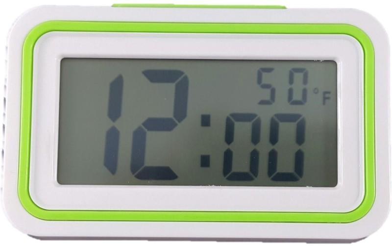 Sahibuy Digital White, Green Clock