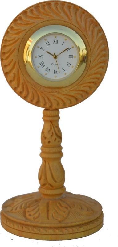 JaipurCrafts Analog Brown Clock