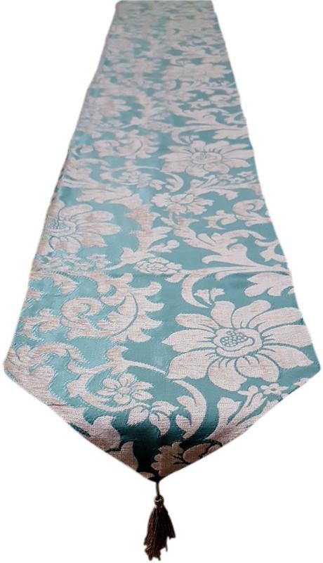 Decorika Green 210 cm Table Runner(Cotton)