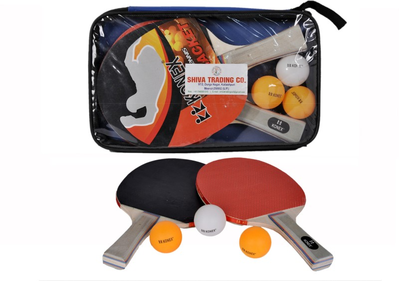 STC STC Table Tennis Set Rollaway Indoor Table Tennis Table(Mullti Color)