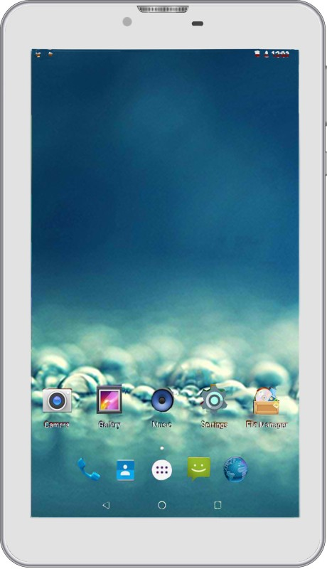 I Kall N8 8 GB 7 inch with Wi-Fi+3G Tablet (White)