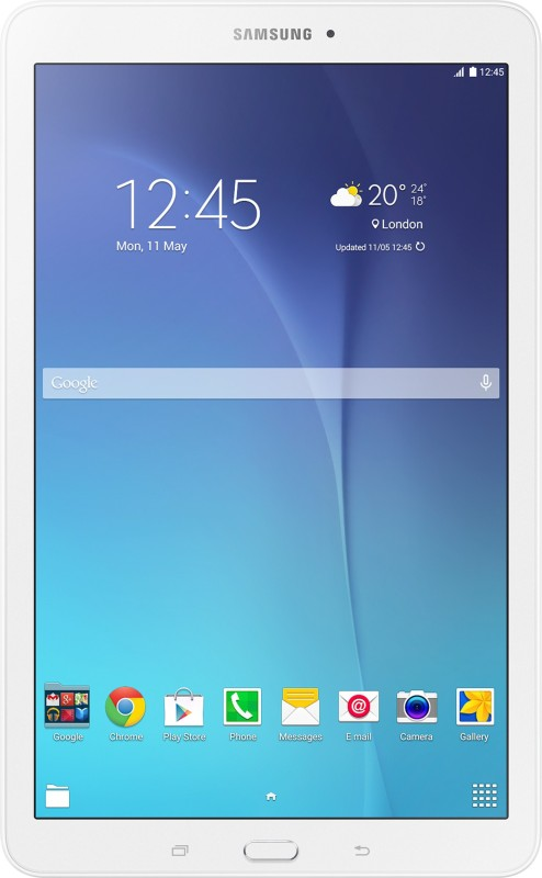 Samsung Galaxy Tab E(Pearl White)