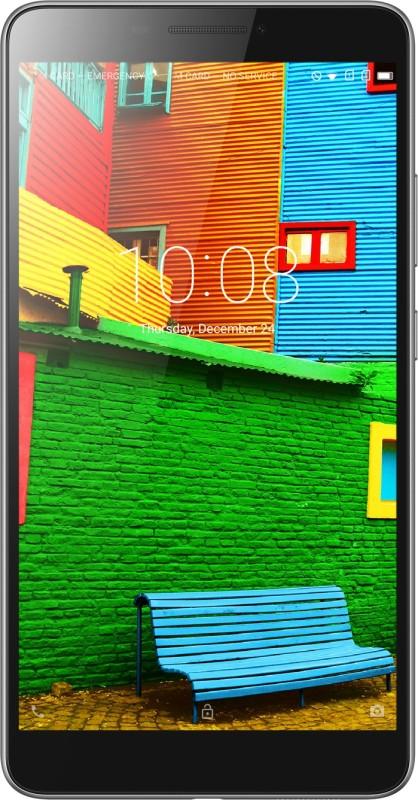 Lenovo PHAB 16 GB 6.98 inch with Wi-Fi+4G Tablet (Ebony)