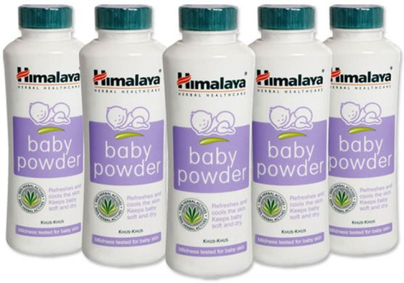 Himalaya Herbal Baby Powder 50 Gm(Pack Of 5)