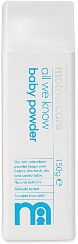 Mothercare All We Know Baby Talc(150 g)